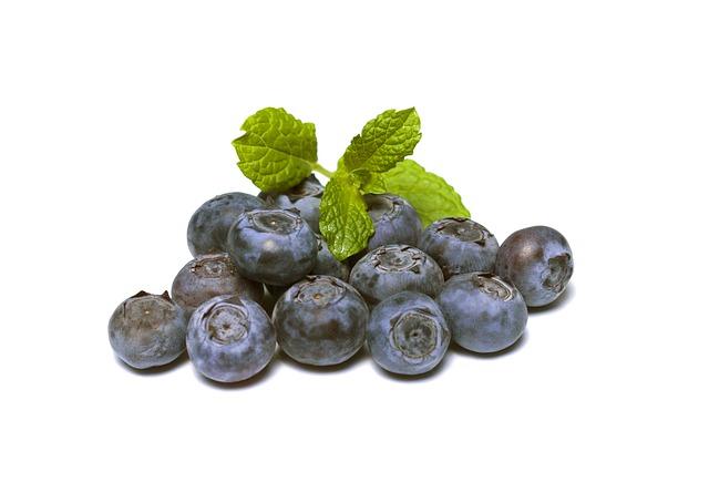 Los arándanos son una fuente de antioxidantes y salud.