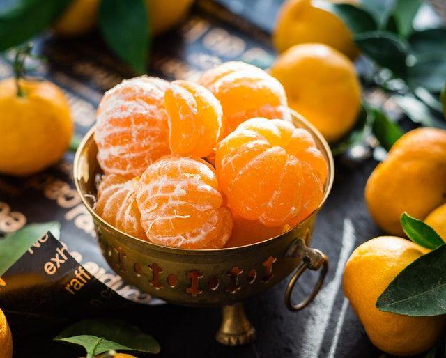 propiedades de la mandarina para la salud