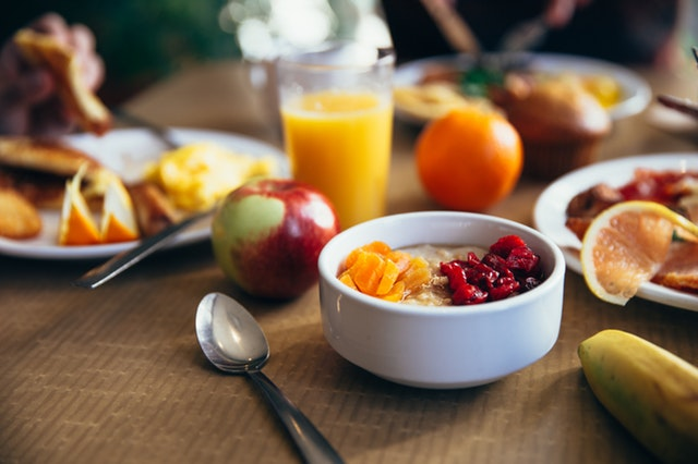 Alimentos saludables para desayunar